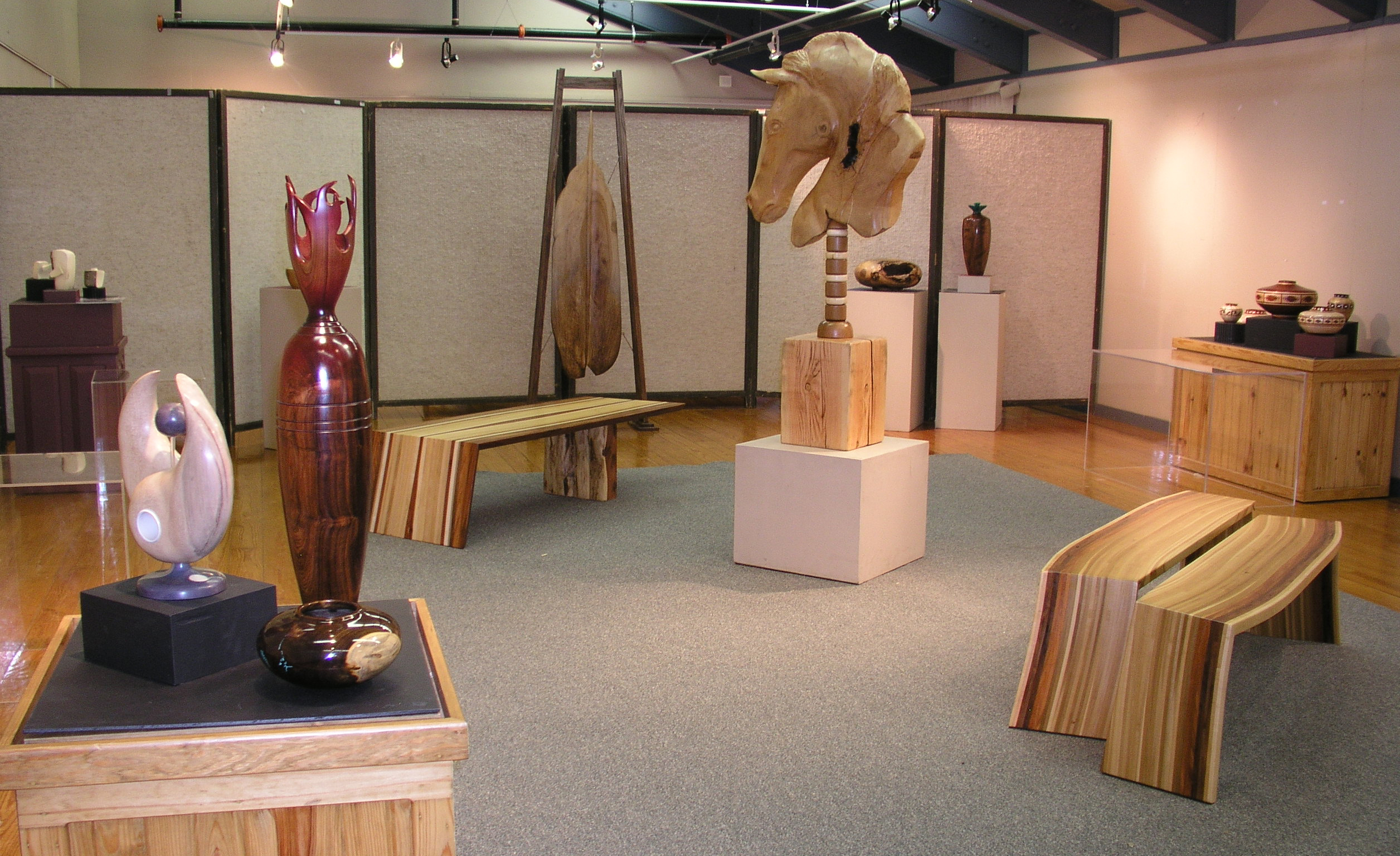 Artist of the year gallery at he Forest Heritage Center Museum